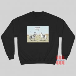 Zebra Upgrade Man Sweatshirt