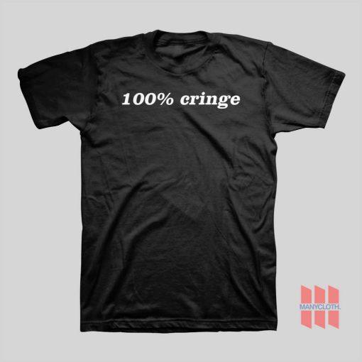 100% Cringe T-shirt