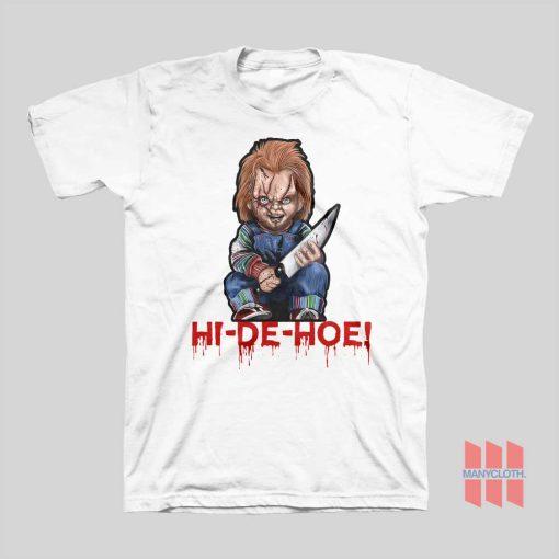 Chucky Hi De Ho T-shirt